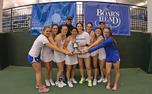 Knocking off three top-10 teams in Charlottesville, Duke captured its first ITA National Team Indoors championship since 2003.