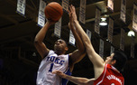 Jabari Parker led Duke's rout against N.C. State with 23 points and will need to keep up his shooting touch to succeed against Miami's zone defense.