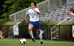 Freshman defender Christina Gibbons has started every game for the Blue Devils and has registered a team-high 1,227 minutes.