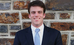 Undergraduates elected senior Chris Brown as the newest Young Trustee Thursday. More than 2,000 students participated in the election.