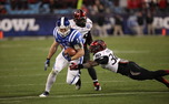 Despite the best effort of players such as Brandon Connette, Duke still fell inches short in the Belk Bowl.