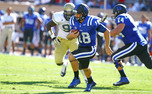 Quarterback Brandon Connette completed just 15-of-28 passes for 122 yards in a 38-14 loss to Georgia Tech Saturday.