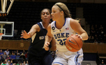 Tricia Liston led the way for Duke with 17 points in the first half as the Blue Devils defeated Old Dominion to close out nonconference play.