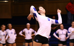 Sophomore Emily Sklar turned in a double-double with 21 kills and 19 digs as Duke defeated N.C. State to get back on track.