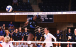 Outside hitter Jeme Obeime registered 15 kills as Duke recorded its ninth straight victory with a win against Wake Forest.