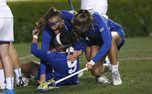 The Blue Devils closed out the regular season in thrilling fashion when Kerrin Maurer found the back of the net with 26 seconds left in double-overtime to beat rival North Carolina.
