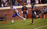 Tight end Braxton Deaver scored two touchdowns as Duke came back from 22 points down to top Virginia.
