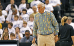 Assistant coach Al Brown brings both a wealth of experience and an eclectic sweater collection to the sidelines.