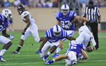 After registering nine tackles in Duke's season opener, sophomore lineback C.J. France will look to stop Stanford's physical offense that scored 44 points against Duke last year.