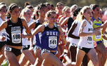 Graduate student Juliet Bottorff ran away with a victory at the Notre Dame Invitational, but a shorthanded Duke squad placed 10th.