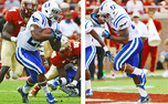 Jela Duncan and Juwan Thompson are part of a deep Duke rushing corps next season.