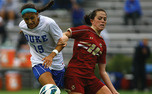 Redshirt senior Kim DeCesare has Duke's only goal of the season through two games.