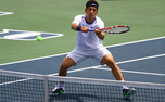 Duke's Bruno Semenzato won a singles and doubles title at the Fab Four Invitational.