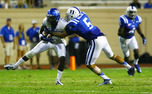 Brandon Braxton was one of three Duke defensive backs to record a tackle for a loss Saturday.