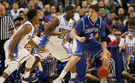 Creighton's Doug McDermott, the nation's second leading scorer, was held to 4-of-16 shooting.