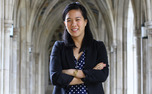 Senior Kat Zhang hopes to play a role in discussions about higher education at Duke.