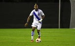 With senior Sebastien Ibeagha at center back, Duke kept Notre Dame from registering a shot on goal until the 55th minute Tuesday in South Bend, Ind.