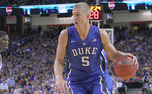 Mason Plumlee was selected 22nd overall in the 2013 NBA draft by the Brooklyn Nets.