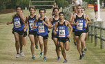 In Cary, N.C. the men's cross country squad earned a victory in the Great American Cross Country Festival.