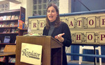 Katie Becker, a Divinity School alumna, read from her memoir on love and religion Tuesday night.