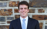 Senior Chris Brown is running for Young Trustee on a platform emphasizing prior Board involvement.