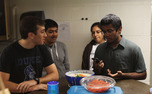 Students from HSA and JSU gathered over traditional food and discussed their faiths.