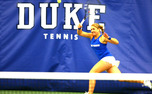 Doubles pair Marianne Jodoin and Annie Mulholland secured an 8-4 victory against Baylor Friday.