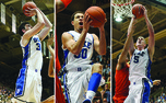 Ryan Kelly, Seth Curry and Mason Plumlee have been through it all together and said farewell to Cameron Indoor Stadium Tuesday.
