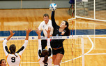 Freshman outside hitter Emily Sklar has been named ACC Volleyball Freshman of the Week twice.