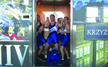 "The Duke wrestling team filmed themselves dancing to Psy's ""Gangnam Style"" across campus, including in the Schwartz-Butters building elevator."