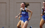 With a time of 15:08, junior Abby Farley crossed the finish line first for the Duke women and gave the Blue Devils their fifth-straight victory in the Bull City Classic.