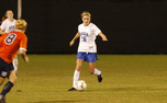 Senior Elisabeth Redmond has set several Duke records with her slick passing and goalscoring abilities.