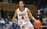 Chloe Wells scored a season-high 13 points in Duke's win against Boston College on Sunday.