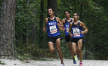 Racing without their top runner, the Blue Devils finished third at the Furman Cross Country Classic.
