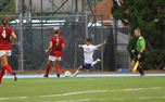 Things seemed to be heading toward a tie Sunday before a pair of mistakes ended up costing the Blue Devils the game, including a nail-in-the-coffin goal in the 84th minute.