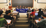 Political experts discussed health care and education, among other topics, during a panel on North Carolina politics Tuesday.