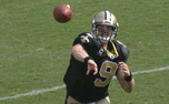 Columnist Danielle Lazarus admits that her pickup of Drew Brees off the waiver wire was for reasons other than his abilities under center.