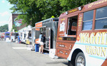 More than 60 food trucks convened at Durham Central Park for the food truck rodeo.