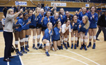 The Blue Devils fought back in the fifth set to top North Carolina and take the ACC crown on Senior Day at Cameron Indoor Stadium.
