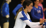 Senior libero Ali McCurdy became Duke's all-time leader in digs, leading the Blue Devils to two weekend victories.