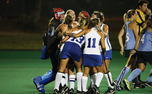 A shootout goal by senior Paula Heimbach gave Duke a 3-2 road victory against No. 1 North Carolina.