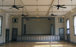 This refurbished 1935 performance hall in Durham's historic Murphey School will host a variety show this weekend that will benefit local charities.
