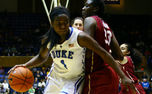 Elizabeth Williams led the Blue Devils with 20 points and 13 rebounds in their win over Florida State.
