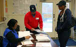 Local residents head to the polls on Election Day to cast their vote for president, state and local offices.