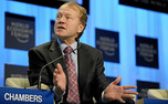 Cisco Systems CEO John Chambers will be this year's commencement speaker, President Richard Brodhead announced Friday.