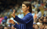 "Head coach Joanne P. McCallie tells stories from her coaching career at Maine, Michigan State and Duke in her book ""Choice Not Chance."""