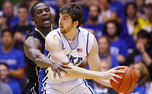 With 17 of his 22 points in the first half, Ryan Kelly keyed Duke's hot shooting performance.