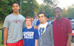 Jahlil Okafor (left) and Tyus Jones (second from right) are college basketball's most coveted recruiting package.