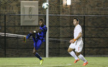 Junior Sebastien Ibeagha scored the Blue Devils' only goal against UNC Wilmington 10 minutes into the second half.