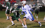 Justin Turri scored twice in Duke's 15-10 win over Georgetown Saturday.